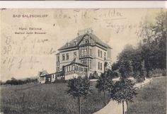 Hotel Bellevue später Haus Waldesruh 1907