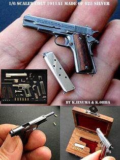Bobby a gun Hidden Weapons, Weapons Guns, Guns And Ammo, Homemade Weapons, Cool Gadgets To Buy, Military Guns, Cool Guns, Miniture Things, Tactical Gear