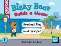 Sean gets bizzy...app is like the board book only there is read along dialogue that he may really like as he builds a house with his crew