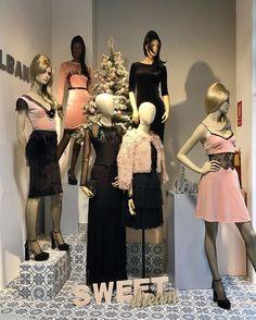 Shop Window Displays, Display Windows, Clothing Displays, Sales People, Display Design, Visual Merchandising, Gorgeous Women, Look, Ballet Skirt