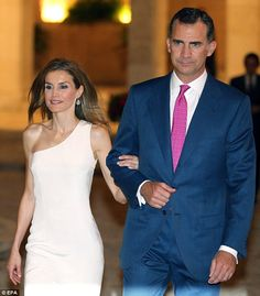 Queen Letizia and King Felipe VI of Spain