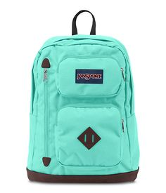 The perfect daily backpack, the JanSport Austin features a 15 inch internal laptop sleeve, one large compartment, three front zippered stash pockets and faux leather bottom. The backpack is offered in a variety of prints and colors.
