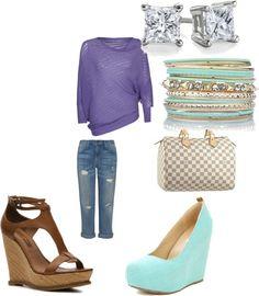 """Saturday shopping"" by lashanna-stephens on Polyvore"