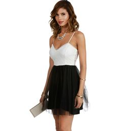 White Pretty Princess Tulle Dress My legit homecoming dress