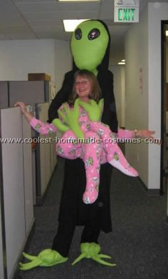Homemade Costumes for Women | Coolest Homemade Monster and Alien Abduction Costume Ideas and Photos
