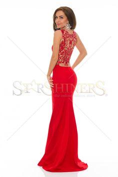 LaDonna Hypnotic Time Red Dress