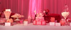 Christopher Marcs Design for Sweet 16 Candyland theme party.  Candy Station  CAKE:  Cathy Myers
