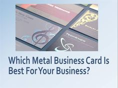 You need #buy cheap #metal #business #card which is speak to what you are giving customers and clients. http://metalwoodbusinesscards.weebly.com/home/which-metal-business-card-is-best-for-your-business