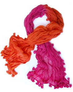 Michael Stars Ombre Dip Dye Wrap Scarf | Shop New and Vintage | Celebrity Style