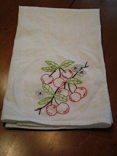Retro Flour Sack Towels | Retro Flour Sack Towel