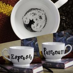 Espresso Patronum Harry Potter Tea Leaves Coffee Mug