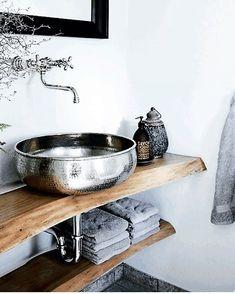 "Modern Moroccan Decor  (@modern.moroccan.decor) sur Instagram: ""Moroccan Bathroom …"""