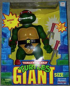 2106ca3fe Playmates Toys Teenage Mutant Ninja Turtles Giants - Raphael Retro Pop, Teenage  Mutant Ninja Turtles