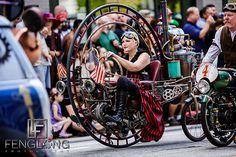 Monocycle | Dragon*Con Parade 2012 | Atlanta Event Photographer.