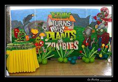 plants vs zombie party