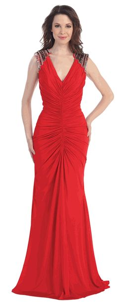 Red Sexy Long Prom Dress / Evening Gown #Red #Prom #Eveninggown #PromDresses