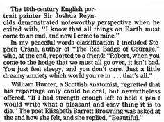 "Some last words from famous people, published in the Oregonian newspaper (Portland, Oregon), 28 September 1986. Read more on the GenealogyBank blog: ""What Were Your Ancestor's Last Words?"" http://blog.genealogybank.com/what-were-your-ancestors-last-words.html"