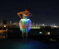 Because the effect of fiber optics is so fascinating I was thinking about making an oufit for Burning Man with fiber optics and RGB LEDs. It took me s...