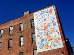 Tender Mercies mural by Kenton Brett, Cincinnati