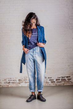 Blazer - Drykorn // top - Drykorn // jeans - Closed