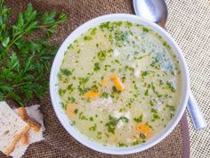 This is a simple and comforting soup recipe that is packed with plenty of fibre and nutrition. Filled with vegetables and thickened with rolled oats, it is a heart healthy combination.