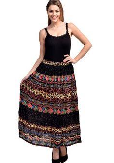 Fashozz Exclusive Black Cotton Prinnter Skirt Buy Skirts Online, Weird Fashion, Fashion Deals, Black Cotton, Summer Dresses, Queer Fashion, Summer Sundresses, Summer Clothing, Summertime Outfits