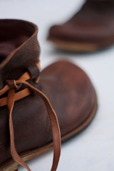 "Machado Handmade, Portugal ""I particularly like simple things. These boots are made ​​from only one piece of leather."" ~ Jose Machado, cordwainer (A cordwainer is a shoemaker who makes fine, soft, leather shoes, and other luxury footwear items.)"