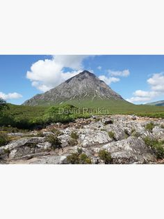 """""""Buachaille Etive Mor the Highlands , Scotland"""" Poster by goldyart Highlands Scotland, Blank Walls, Free Stickers, David, Artist, Prints, Poster, Pictures, Image"""