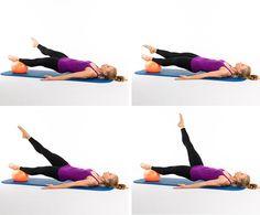 Pilates Ball Core-Strengthening Workout