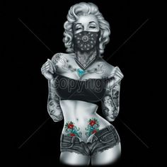 Beste Ideen Tattoo Girl Face Draw Marilyn Monroe - Beste Ideen Tattoo G. Marilyn Monroe Tattoo, Marilyn Monroe Kunst, Marilyn Monroe Artwork, Marilyn Monroe Playboy, Marilyn Monroe Drawing, Tattoo Girls, Girl Tattoos, Gangsta Tattoos, Tatoos
