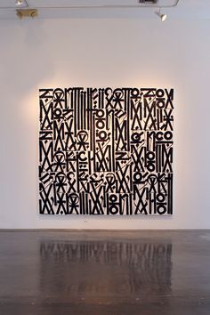IN LA: RETNA @ MICHAEL KOHN GALLERY i love this painting by RETNA. Usher Battle reality set.