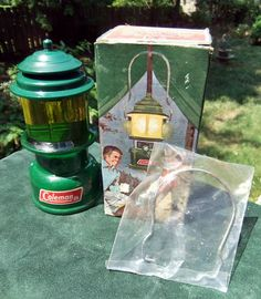 Vintage Avon 1970s Coleman Lantern Cologne Decanter  by 211Arts, $8.00
