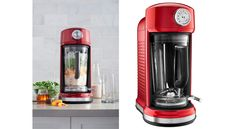 Pamper yourself with the easy-to-use high styled KitchenAid Torrent blender...