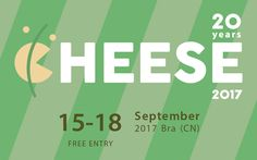 The edition of the Cheese Festival held in the city of Bra, Italy started today Cheese Festival, Milk Products, Cheese Food, Raw Milk, Free Entry, Slow Food, Hold On, September, Bucket