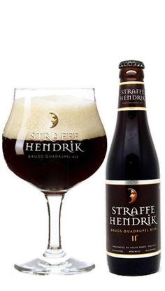 STRAFFE HENDRIK - QUADRUPEL De Straffe Hendrik Quadrupel is een bijzonder donker bier met een volle en complexe smaak. Door de hergisting op de fles verandert de smaak per jaar. Een uniek bier voor een ervaren bierliefhebber. https://bierrijk.nl/straffe-hendrik-quadrupel