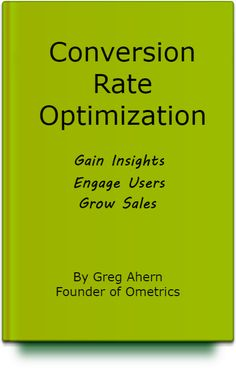 What is conversion rate optimization? Read chapter 1 in this ebook.