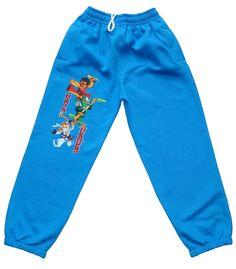 Spodnie NINJA HEROES ocieplane niebieskie -chłopiec (1) Ninja, Pajama Pants, Pajamas, Sweatpants, Fashion, Tunic, Pjs, Moda, Sleep Pants