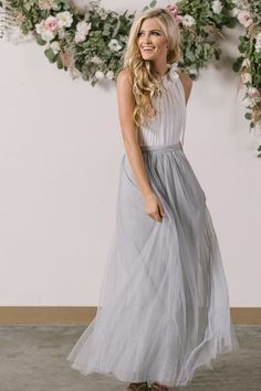 This pleated beauty is the perfect top for all of the midi and maxi skirts sitting in your closet. We love the ribbon bow tie of this halter top that looks amazing tucked into a skirt or paired over y