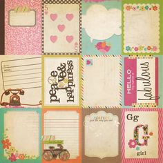Flash Cards 12x12 Cardstock | Simple Stories