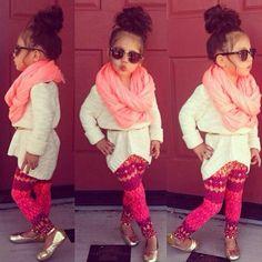 My future fashionista lol