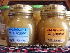 La Regina del Sapone: marmellata piccante di zenzero