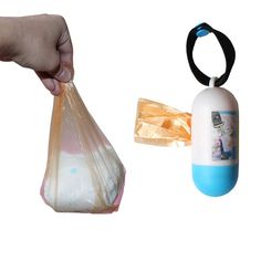 Portable Plastic Bags Dispenser for Baby Diapers by Baby in Motion