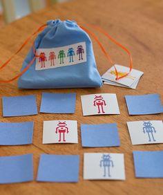 My Delicious Ambiguity: DIY Matching Memory Games