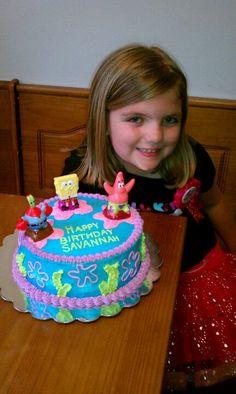 Spongebob cake..