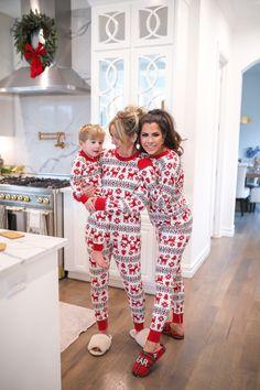 Hanna Andersson Christmas Pajamas | fashion | The Sweetest Thing Baby Christmas Pajamas, Christmas Pajama Party, Matching Christmas Outfits, Xmas Pjs, Family Christmas Outfits, Matching Family Christmas Pajamas, Family Pjs, Family Outfits, Christmas Baby