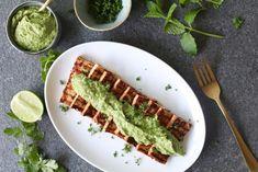 Tofu met avocado chimichurri - Beaufood