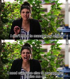 I don't need to manage my anger