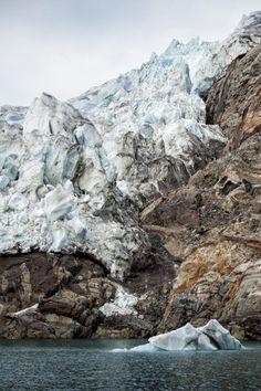 Karale Glacier, East Greenland \\ johanluce