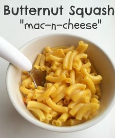 Butternut Squash Macaroni and Cheese Recipe For Kids