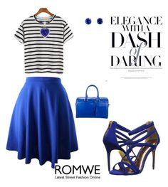 """""""Daring Elegance"""" by agnesmakoni ❤ liked on Polyvore featuring Yves Saint Laurent, Ted Baker and Jardin"""